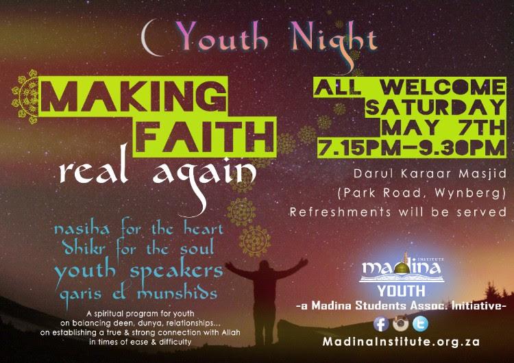 Making faith real again event – HAFITH SOHAIL confirmed